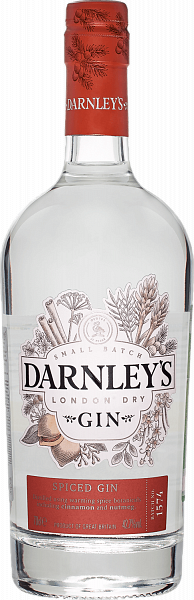 Darnley's Spiced Gin Wemyss Malts, 0.7л