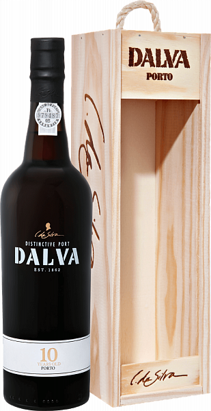 Dalva Porto 10 years old C. Da Silva (gift box), 0.75л