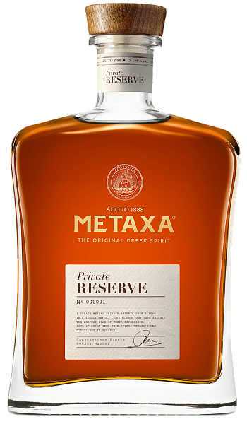 Brandy Metaxa Private Reserve (gift box), 0.7л