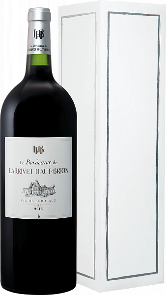 Le Bordeaux de Larrivet Haut-Brion Bordeaux AOC (gift box), 1.5л