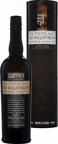 Old Ballantruan Speyside Glenlivet Single Malt Scotch Whisky (gift box), 0.7л