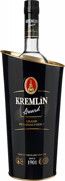 KREMLIN AWARD Grand Premium Vodka (gift box), 1л
